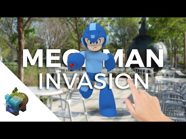 Apple ARkit - Megaman invasion!