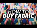 How to Buy Fabric Terminology Shopping Tips WITHWENDY