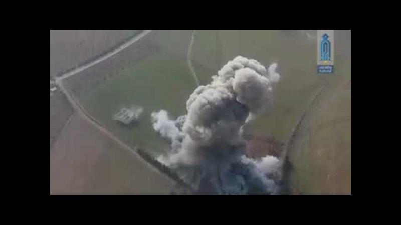 Шахид-мобиль в окрестностях Абу-Духур в Сирии