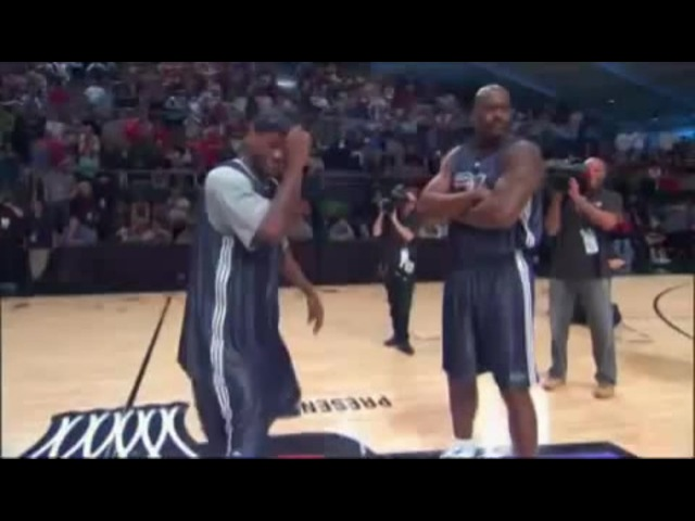 Shaq, LeBron, All-Star Dance-Off