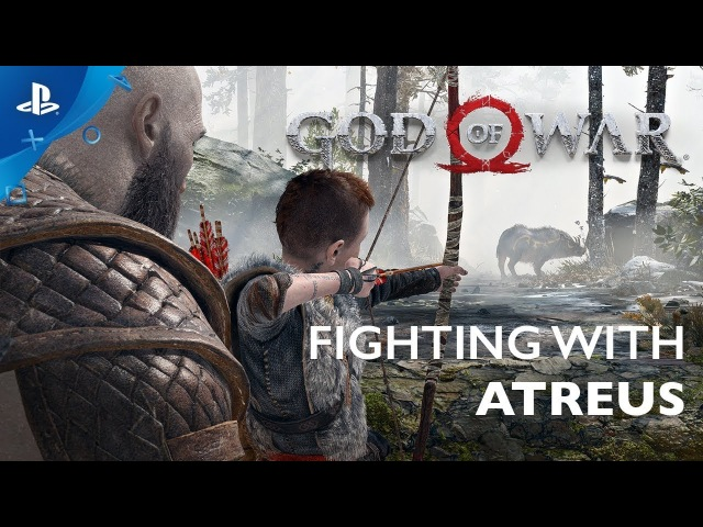 God of War - Designing an Effective Companion   PS4