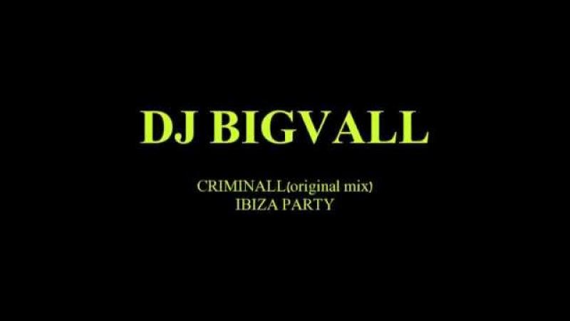 DJ BigVall- Criminall