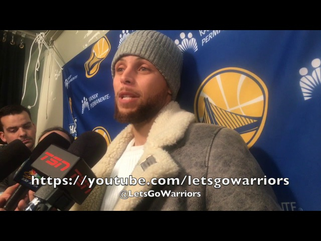Entire STEPH CURRY postgame on ankle don't feel limited but feel it missing 2 FTs PNR w Durant