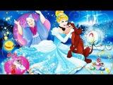 Принцессы Диснея Золушка Cinderella Мультфильм полностью по игре