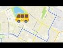 Временные маршруты для 23 и 26 автобусов