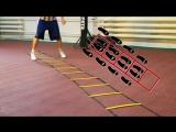 Выносливость-Тренировка вне зала с координационной лесенкой.Простые советы и упражнения.Год спорта#4