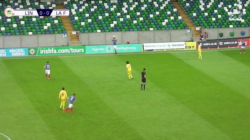 5 CL-2017/2018 Linfield FC - SP La Fiorita 1:0 (28.06.2017) HL