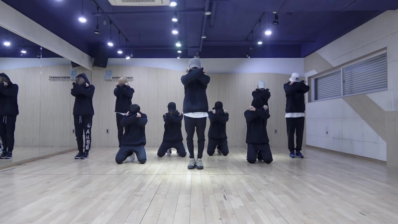 [DANCE PRACTICE] 180220 Stray Kids - Grrr `Law of Total Madness`