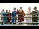 СЕМЬЯ Деда Мороза в Окунево (03.12.2017, река Тара у ТЮПа близ д. Окунево, часть 3)