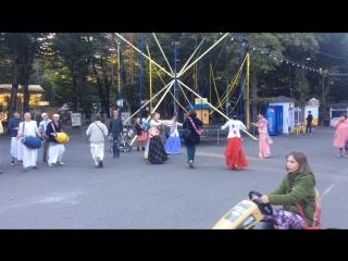 Харе Кришна в парке Победы