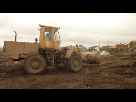 Old soviet loader TO-18A