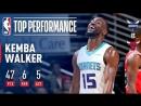 Kemba Walker Scores 47 Points vs. Bulls November 17, 2017