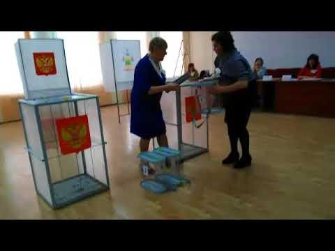 Выборы в Верхнебаканском. Позорище учителям и директору школы № 14