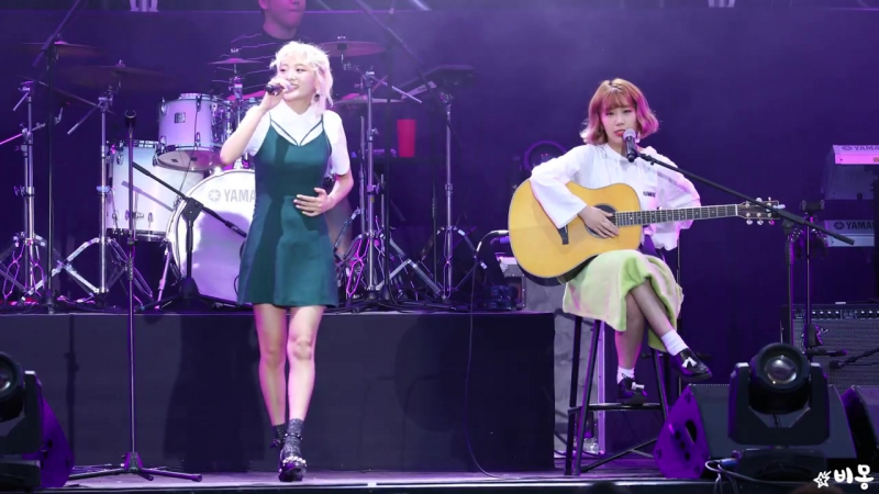 [FANCAM] 170610 Bolbbalgan4 (볼빨간 사춘기) - Tell Me You Like Me (좋다고 말해) @ 2017 Yongin Loving You Concert