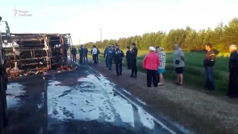Следственный комитет провёл первое задержание по делу об автокатастрофе в Татарстане.