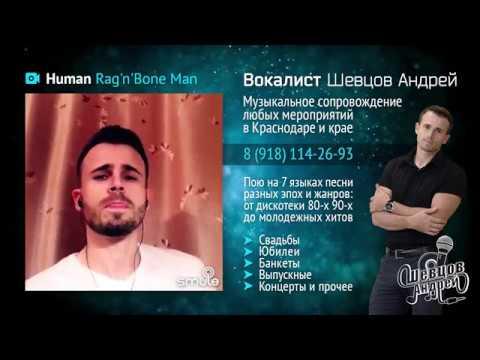 Шевцов Андрей - Human (ориг. Rag'n'Bone Man)