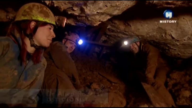 S10 E03 Пещера детских костей (Скалистый край, Дербишир)