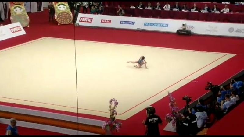 Саломе Пажава булавы гран при Москва 2018 финал
