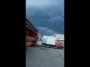 Ураган приближается или как Анька даёт дёру😂