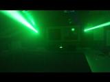 American DJ On x short demo with smoke