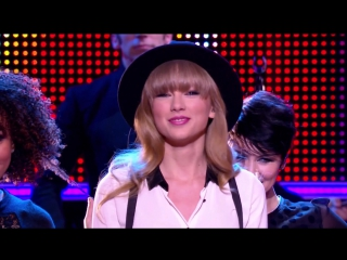 Taylor Swift - We Are Never Ever Getting Back Together (Live at Le Grand Journal 2012)
