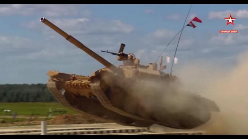 Танковый биатлон-2017. 15 заезд. Индусы на Т-90