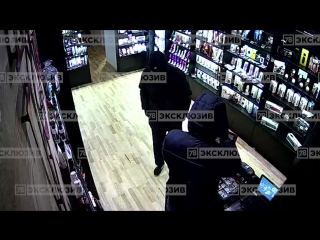 Ограбление очередного секс-шопа в Петербурге