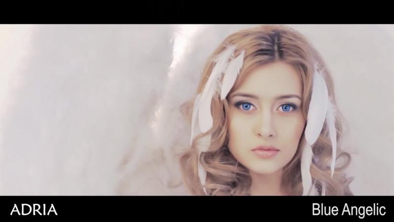 ADRIA Crazy Blue Angelic, цветные линзы для ангельских глаз