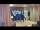 Танец Наташи Леры и Гели