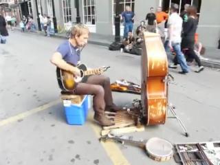 Лучший уличный человек оркестр