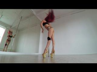 Angelina Gelios - Exotic pole choreo