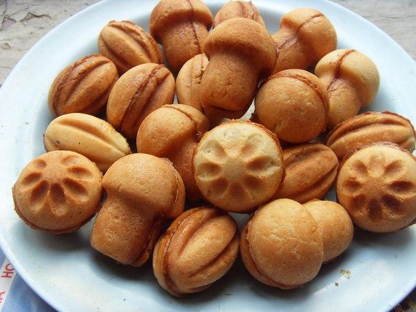 Печенье грибочки в форме рецепт фото