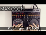 Plug-in for EFX1000 on Ableton live with Max for live