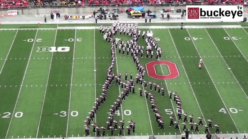 Ohio State Marching Band _Michael Jackson Tribute