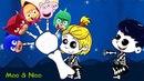 Детская песенка про пальчики поют скелетончики - Moo-Noo детские песенки и мультфильмы