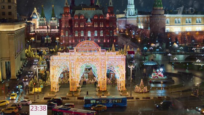 Полет на Дельтоплане - Валерий Леонтьев (Новогодняя ночь на первом 2018)