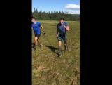 Интервальная тренировка, Норвегия (07.2017)