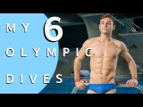 MY 6 OLYMPIC DIVES...EXPLAINED! I Tom Daley