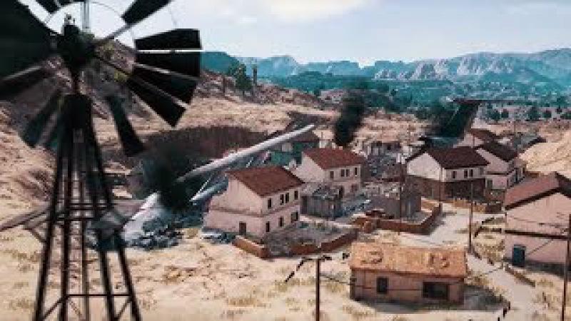 PlayerUnknown's Battlegrounds' Desert Map Reveal Trailer