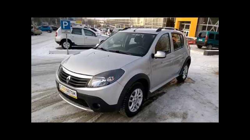 Купить Рено Сандеро Степвей (Renault Sandero Stepway) 2013 г. с пробегом бу в Саратове Элвис