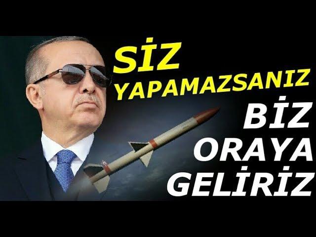 Erdoğandan Afrin Zaferi Sonrası Büyük Tehdit Oraya da Gireriz...