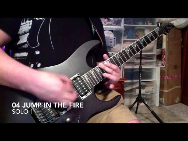 Metallica Kill 'Em All Solos guitar cover Bryan Plays Albums