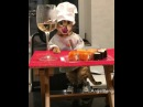 Angel the Bengal Cat Eating Sushi - 983464