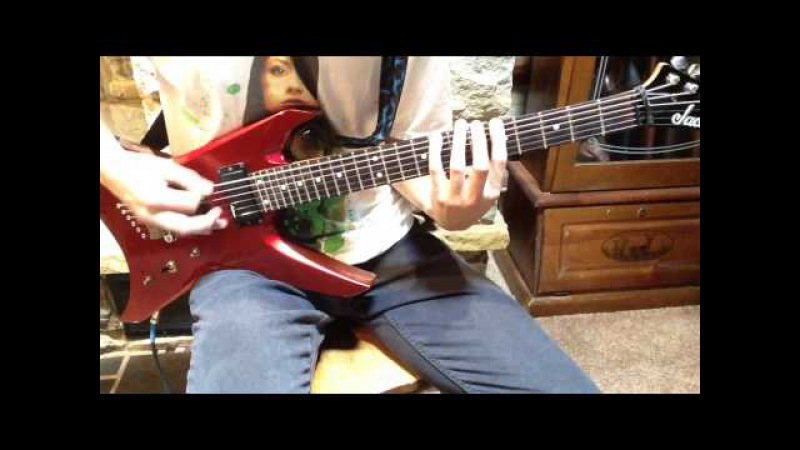 Braille For Stevie Wonder's Eyes Only Guitar Cover (Guitar Only) Bring Me The Horizon