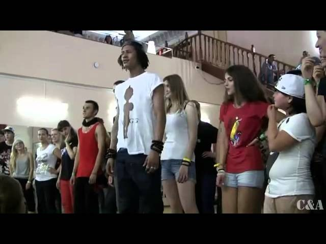 Les Twins are in Moscow 2012