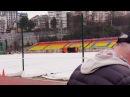 Старт захода на 10 км Командное первенство России по спортивной ходьбе. Юноши 5 км