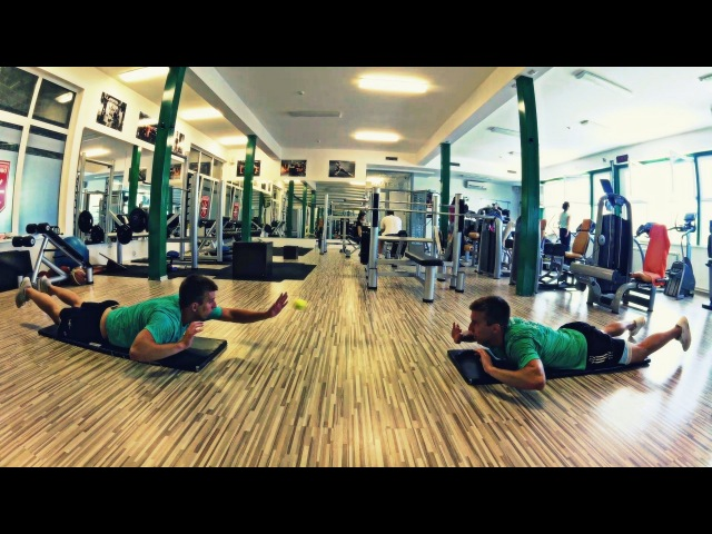 Hard Work, Football Training | Stefan and Momcilo Rudan | Dalibor Danicic