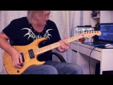 Rock Ballad Solo by Dmitry Andrianov (with tab and backing track)