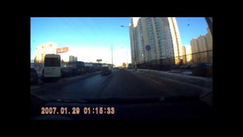 Люберцы, дублёр Комсомольского проспекта. Не ДТП Как не нужно ездить