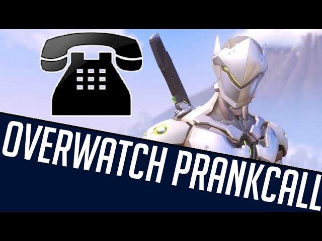 GENJI CALLS FOR HEALING - Overwatch Prank Call